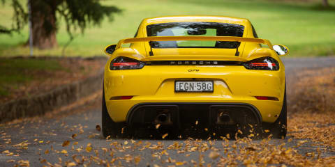 2021 Porsche 718 Cayman GT4 review