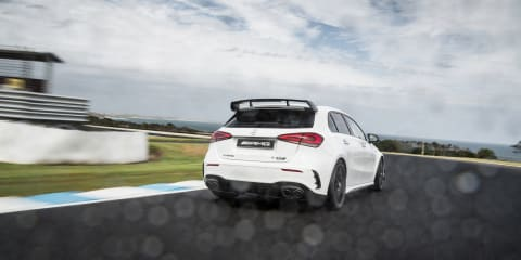 2021 Mercedes-AMG A45 S review: Track test with Pirelli Trofeo R tyres
