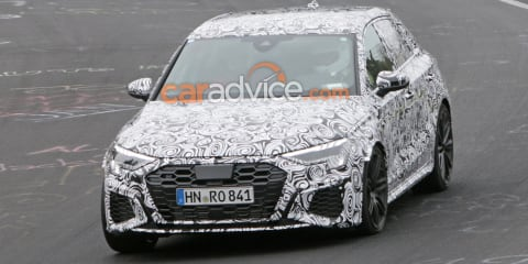 2021 Audi RS3 spied