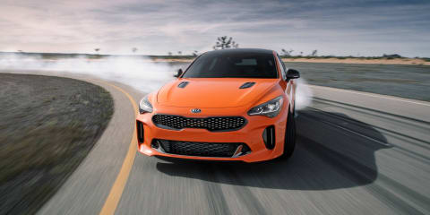 Kia Stinger Carbon Edition revealed