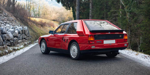 Iconic 1985 Lancia Delta S4 Stradale to be auctioned