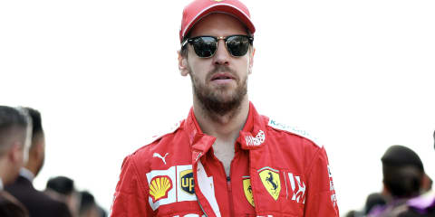 Sebastian Vettel puts Ferrari collection up for sale