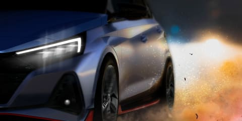 2021 Hyundai i20 N teased ahead of Australian launch – Sound added!