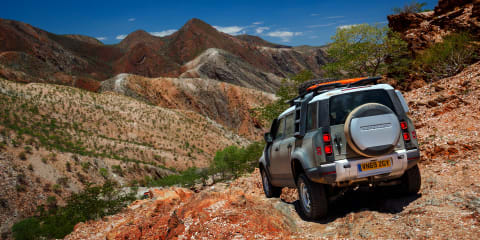 Land Rover Defender: Exploring the wilds of Africa