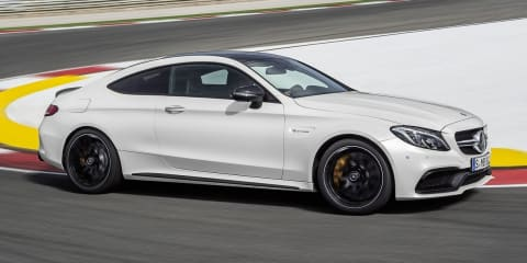 2016 Mercedes AMG C 63 S Coupé Trailer