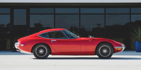 Rare 1967 Toyota 2000GT likely to fetch high price at US auction