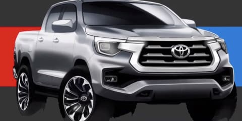 The 2021 Toyota HiLux designs that didn't make it