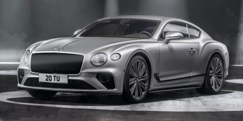 2022 Bentley Continental GT Speed revealed