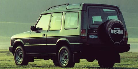 Honda's first-ever SUV was a V8-powered Brit