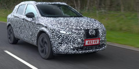 2021 Nissan Qashqai teased, will be offered with petrol generator hybrid system