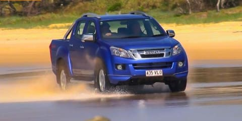 Isuzu D-MAX X-RUNNER Limited Edition : Surfing with Ryan Hipwood