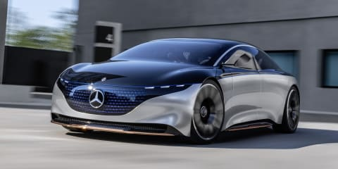 Mercedes-Benz Vision EQS concept revealed
