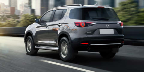 Rendered: our Mazda CX-50 takes BT-50 into the SUV space
