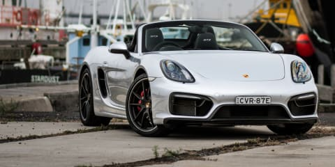 2015 Porsche Boxster GTS - remote roof operation