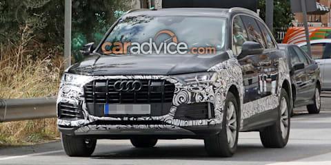 2019 Audi Q7 spied
