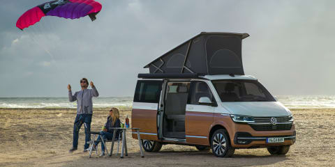 2021 Volkswagen Transporter 6.1 and California here soon