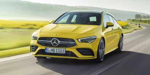 2019 Mercedes-AMG CLA35 Shooting Brake revealed