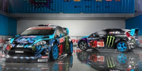 Ken Block reveals new team, livery and headquarters for 2013