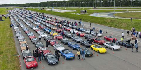 Mazda MX-5 parade sets new world record