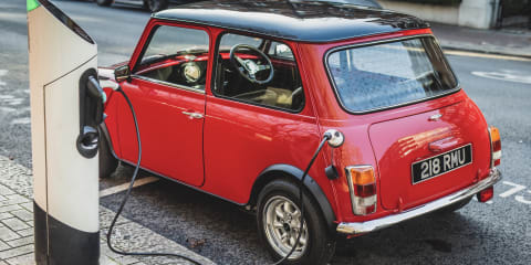 New kit allows old Minis to be converted to electric power