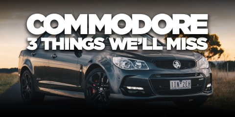 Holden Commodore: Goodbye to Australia's hero sedan