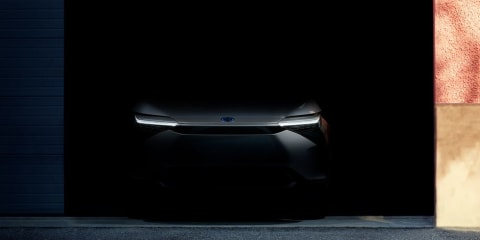 Toyota BZ: Electric concept SUV teased ahead of April 19 reveal