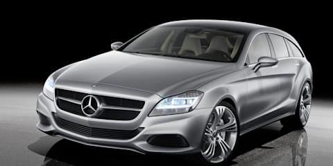 Mercedes-Benz CLS Coupe Shooting Break concept
