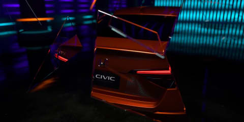 2022 Honda Civic sedan teased – UPDATE: leaked, just hours from debut