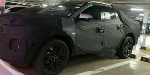 2021 Hyundai Santa Cruz spied