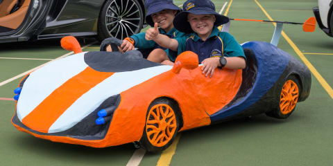 McLaren Tiger Stripe: Young Aussie engineers design the drift car of tomorrow