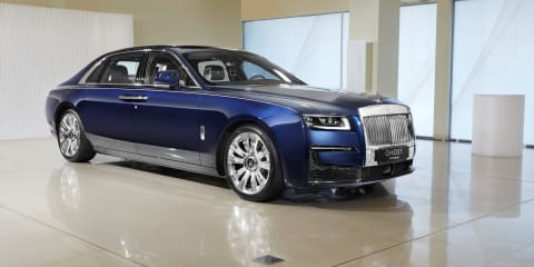 2021 Rolls-Royce Ghost Extended: $740,000 Rolls makes its Australian debut