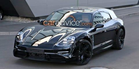 2020 Porsche Taycan Sport Turismo spied