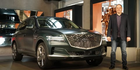 Video: 2021 Genesis GV80 lands in Australia