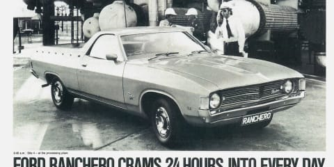 How the humble Falcon ute became a Ford Ranchero