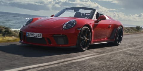 2019 Porsche 911 Speedster unveiled, Australian availability confirmed