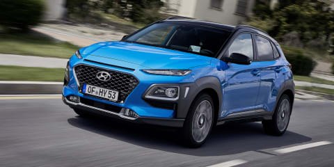 2020 Hyundai Kona Hybrid priced from $40,100 in the UK