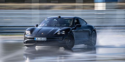 Porsche Taycan sets world record for longest electric vehicle drift