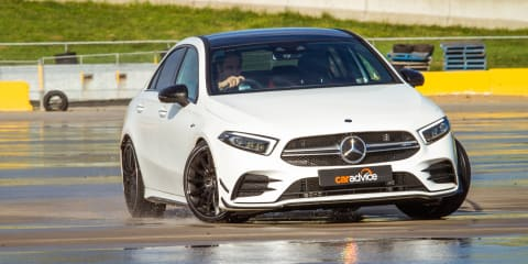 2020 Mercedes-AMG A35 sedan review