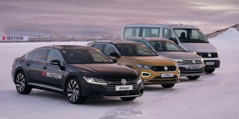 Volkswagen: 44 per cent of sales are 4Motion