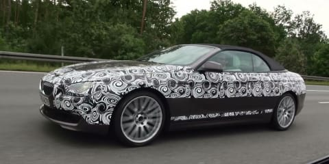 Video: 2012 BMW 6 Series being chased at 250km/h