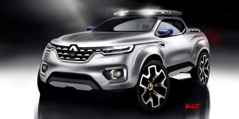 Renault Alaskan ute ruled out again, next generation a possibility