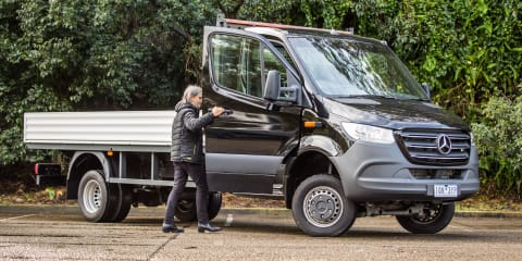 2020 Mercedes-Benz Sprinter review: 519CDI LWB 4x4