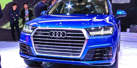 Audi Q7 First Look : NAIAS Detroit Motor Show 2015