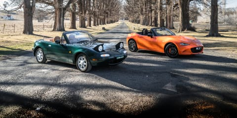 Mazda MX-5 old v new: 1990 Limited Edition v 2019 30th Anniversary Edition