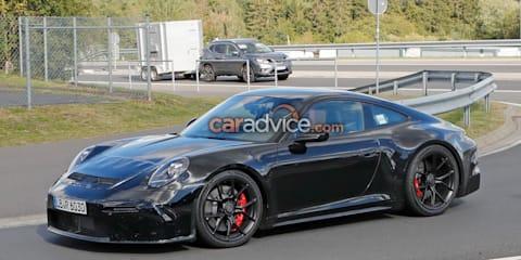 2020 Porsche 911 GT3 Touring spied