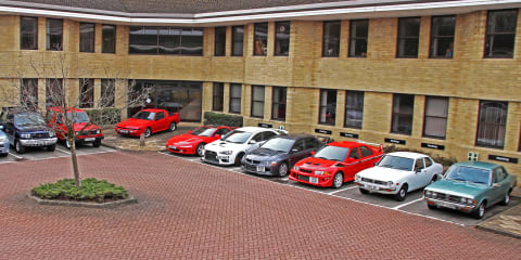 Mitsubishi Motors UK to auction heritage fleet