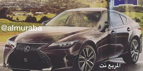 2020 Lexus IS rendered