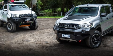 Mod or Not: Toyota Hilux Rugged X v Modded Hilux SR5
