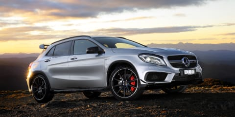 Mercedes-Benz GLA45 AMG price and specifications