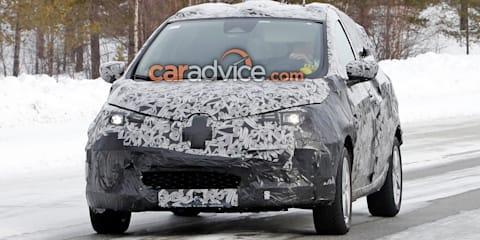 2020 Renault Zoe spied